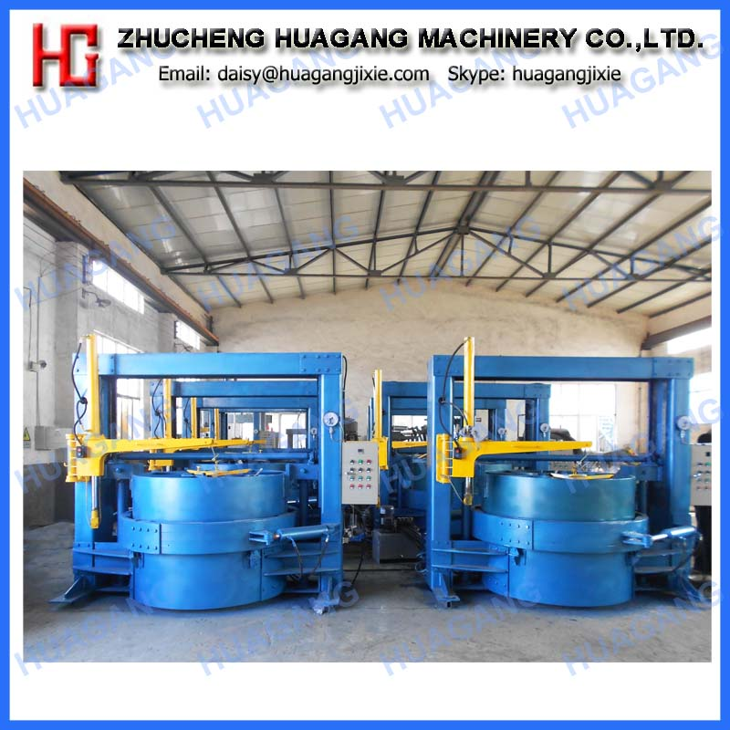 Oil heating segmented tire retreading machine line