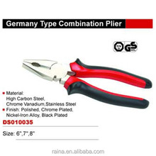 Germany Type Combination/Diagonal Cutting/Long Nose multi-tool plier