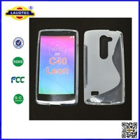 Good quality S Line soft TPU Gel Case Skin Cover For LG Leon