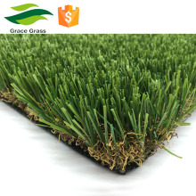 45mm artificial turf PU backing 17850 density landscape grass
