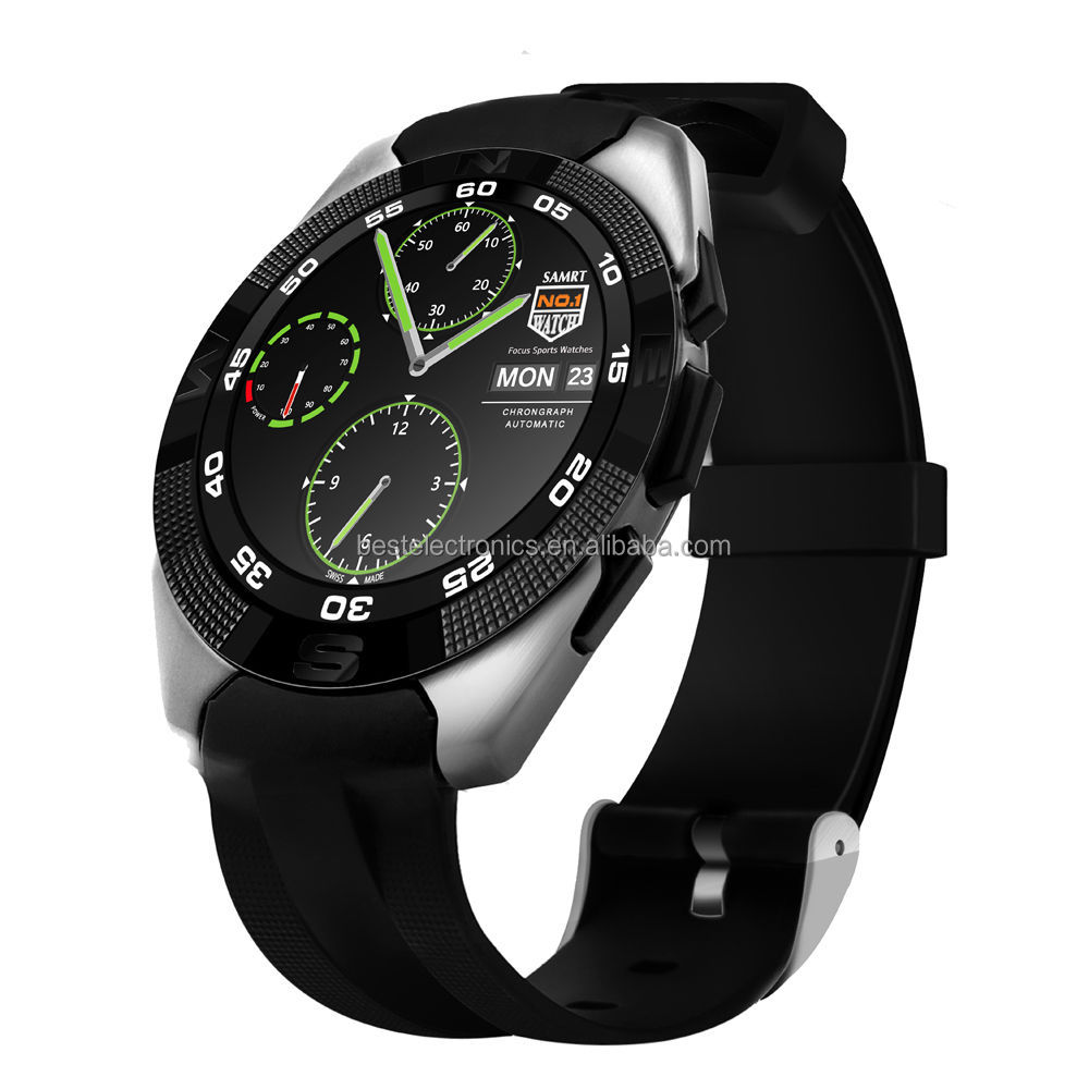 Factory direct sales 2017 New style G5 Sports Smart Watch Bluetooth Heart Rate For IOS Android