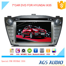 gps touch screen car dvd vcd cd mp3 mp4 player for HYUNDAI IX35 with reversing camera