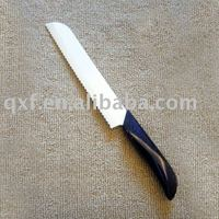 Ceramic bread knife with hard white blade