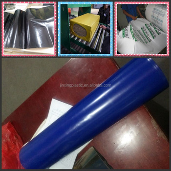 polyethylene shrink film with color ( white/black/blue/yellow/green)