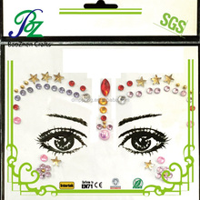 Custom adhesive eye makeup stickers,eyeliner stickers