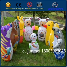 Best Sellers PVC inflatable cartoon,large tumblers,toys