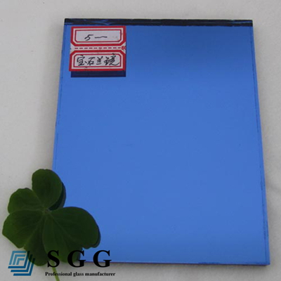 Good quality blue tinted mirror