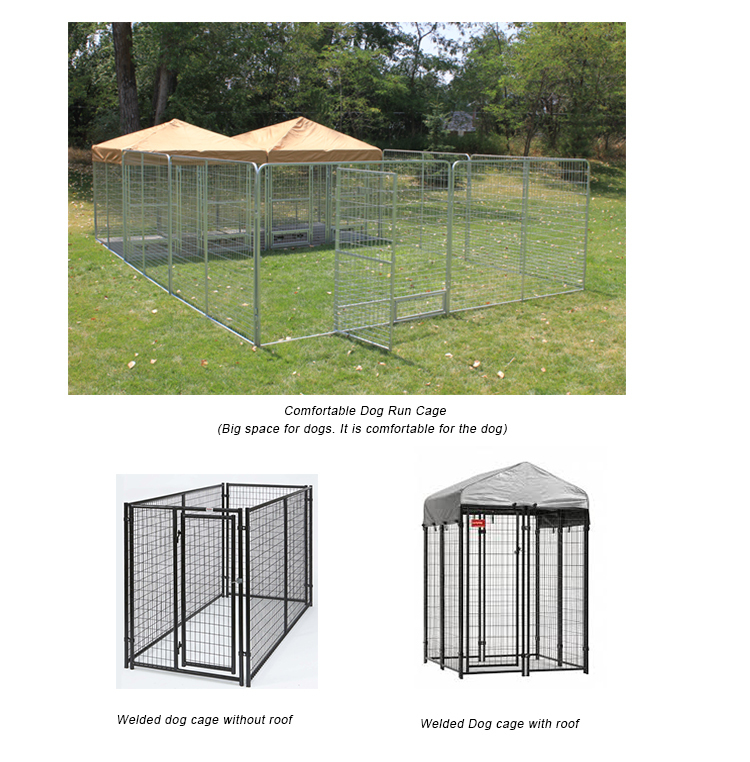 Spain Hot sale or galvanized comfortable dog kennel fence panel