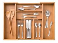 Bamboo/Wooden cutlery tray
