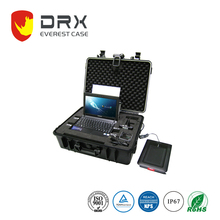 2017 New design optical computer plastic instrument case with foam