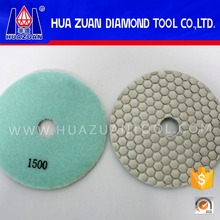 "Resin bond 3"" 4"" 5"" granite marble dry polishing pad for angle grinder"