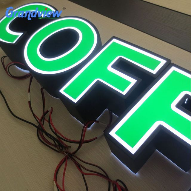 Customized Shape and Acrylic Material 3D crystal light letter sign