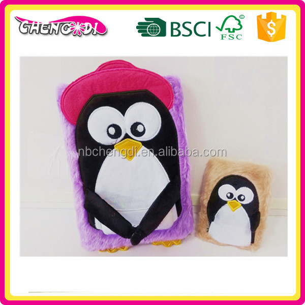 SUPER STYLE customized high quality OEM plush journal