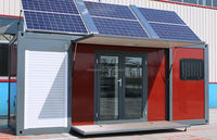 Strong and durable expandable container house, home