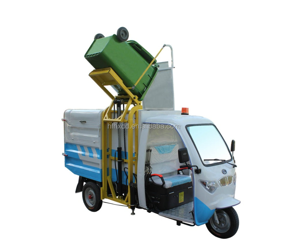 new electric trash tricycle trash 2500w electric garbage cleaning tricycle