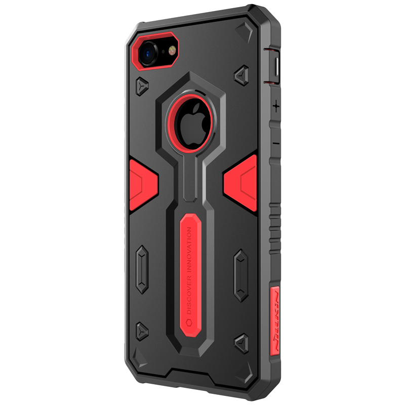 Nillkin new arrival strong protection armor case for iPhone 8 two-layer PC and TPU phone case