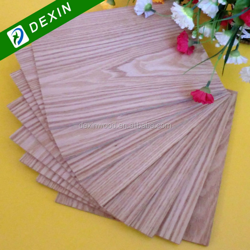 High Quality Natural Red Rose Fancy Plywood