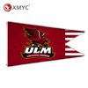 Custom Printed Louisiana Monroe Warhawks Abstract Art Wall Decorative Flying Flag