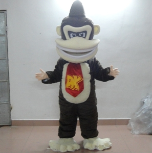 HOLA monkey mascot costume/gorilla costume for adult
