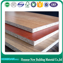 18mm Melamine Particle board from Honsoar Wood Industry of China