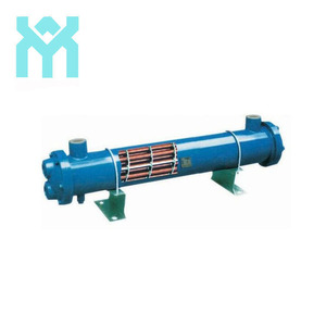stainless steel industrial shell water cooled condenser