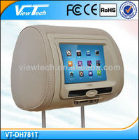 hyundai headrest dvd players in car monitor with DVD/SD