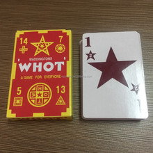 [Factory direct supply] Customized Top Quality Paper Poker Set Poker Cards WHOT Playing Cards