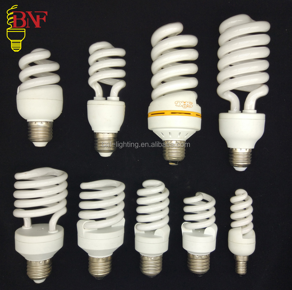 Energy Saving & Fluorescent half spiral 85w 6500k 2700k electric bulbs