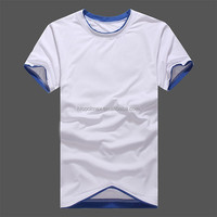 New Arrival Men Fashion Breathable T-Shirts Big Size L-5XL Patchwork O-Neck Short Sleeve Charm Man White Casual Tees & Tops