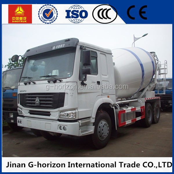 12 Cubic Zoomlion Used Concrete Mixer Truck