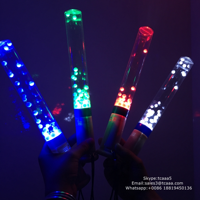 Concert AAA battery operate colorful LED cheering sticks