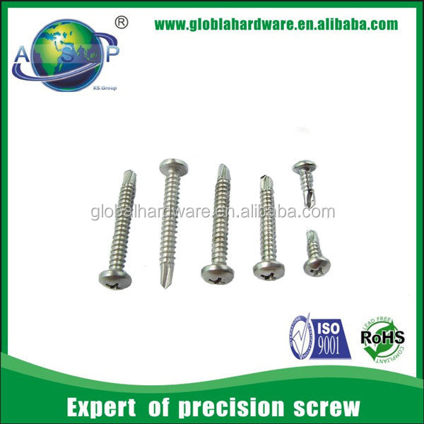 Stainless Steel Philips Pan Head Tek 5 Screws
