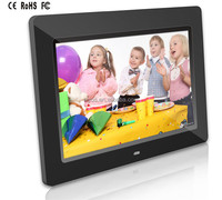 Hot Digital Photo Frame With Media Player Ads Video Loop