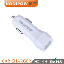 Universal car charger for macbook pro with 5v 2.1A Output