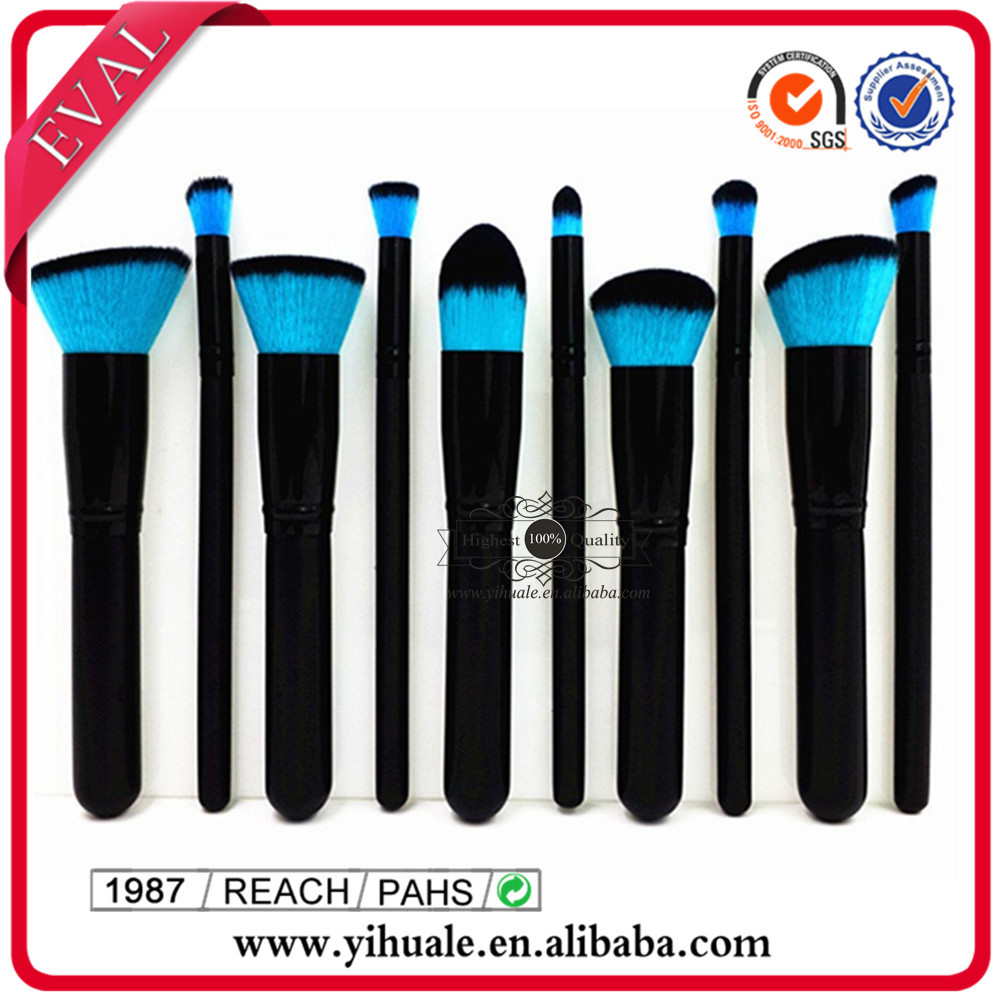 High Quality colorful synthetic hair Kabuki Brush Powder Makeup Brushes