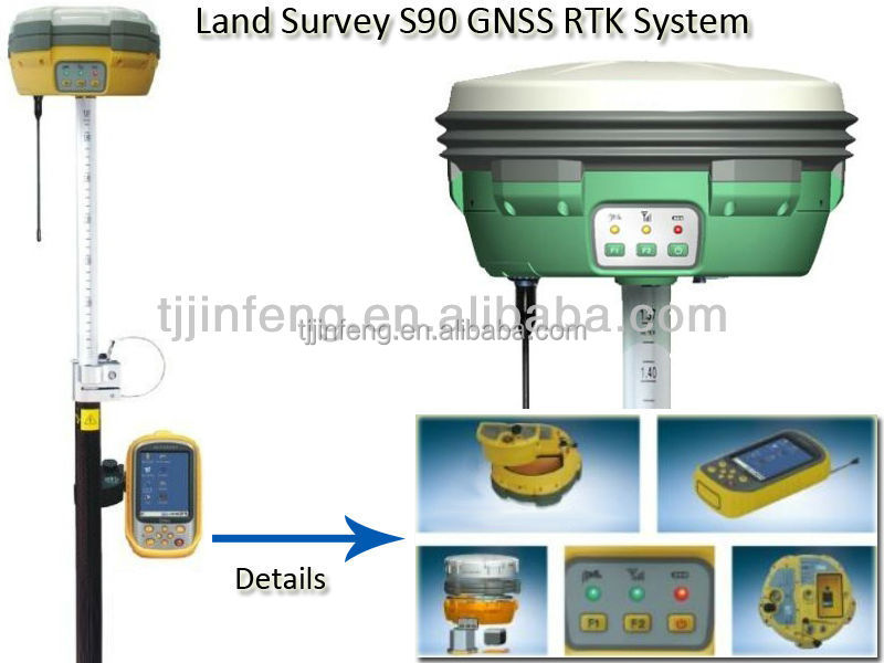 High Precision Land Survey S90 GPS RTK GNSS RTK System