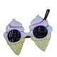 plastic ice cream funky party glasses advertising eyeglasses