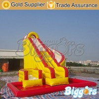 33FT Commercial Inflatable Jumping Bounce Waterslide For Rentals