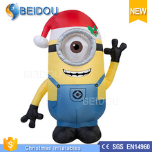 Advertising Inflatable Cartoon Characters Inflatable Despicable Me Minions for Kids