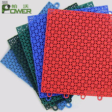 outdoor basketball court pp plastic mat tiles interlocking