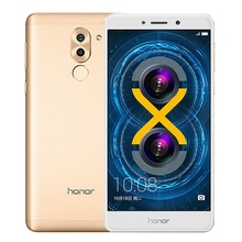 China High Quality Dropshipping Global Version Original Gold Huawei Honor 6X Mobile Phones 3GB 32GB 5.5 Inch 4G Mobile Phones