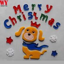 Christmas ornament gel cling window decoration window sticker for christmas