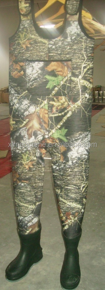 camo neoprene fishing wader