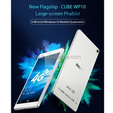Same day shipping 6.98 inch IPS Screen Cube WP10 Tablet MSM8909 Quad-core 4G wifi tablet pc