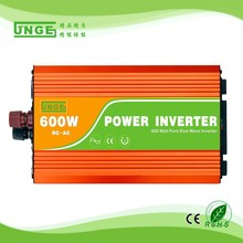 off-grid 12v 24v 48v 600w high frequency pure sine wave solar electric hybrid inverter