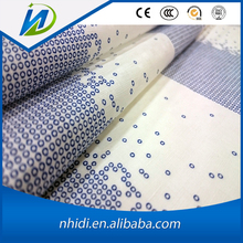 Factory Price Good Color Fastness Cotton Flax Printed Fabric