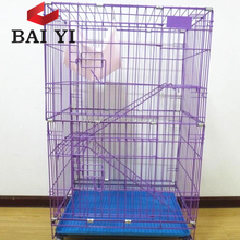 2018 Wholesale Hot Sale Cheap Folding Large Cat Cage
