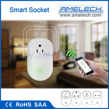 230v 240v wireless android remote controlled electrical smart wifi power outlet switches