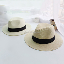 custom straw hat bands paper straw panama hat for sale