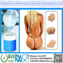 Liquid silicone rubber making high quality artificial vagina silicone artificial vagina